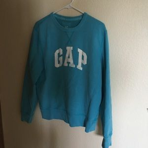 Gap blue crewneck sweatshirt